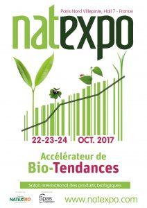 Natexpo, le salon international des produits biologiques est l'événement qui dessine la bio de demain.