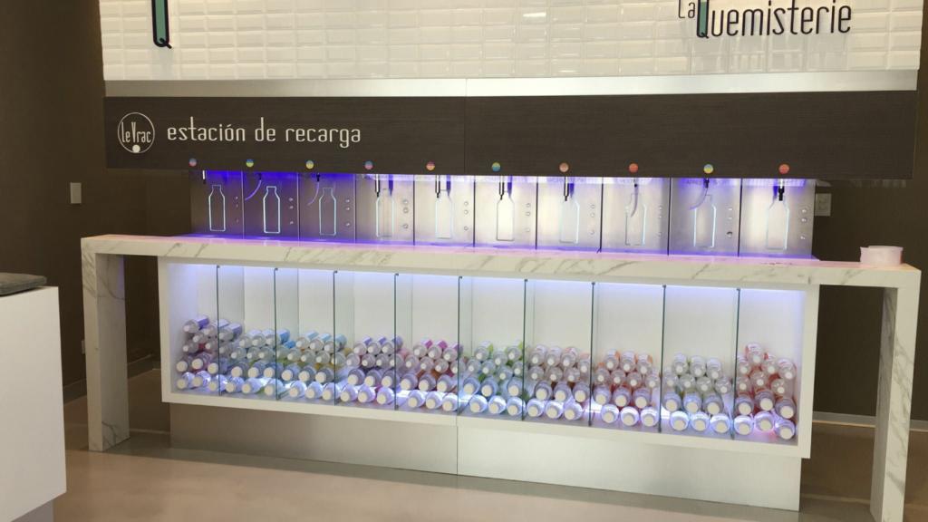 Station de recharge de vrac liquide de La Quemisterie en Argentine