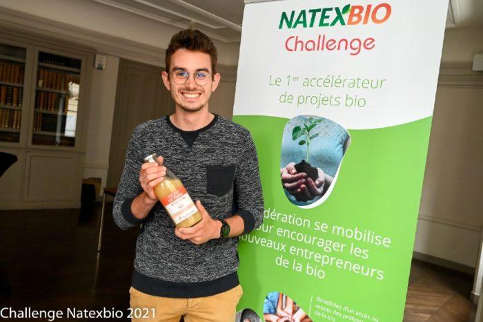 Maxime Durand, co-fondateur de Bio Demain et gagnant du 1er Prix du Natexbio Challenge