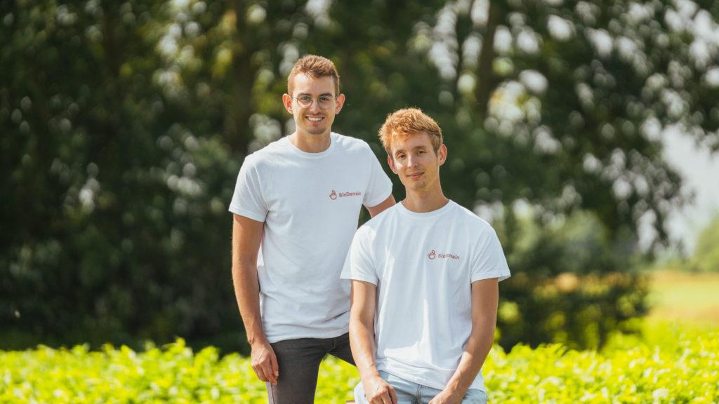 Maxime et Stephane, fondateurs der Bio Demain